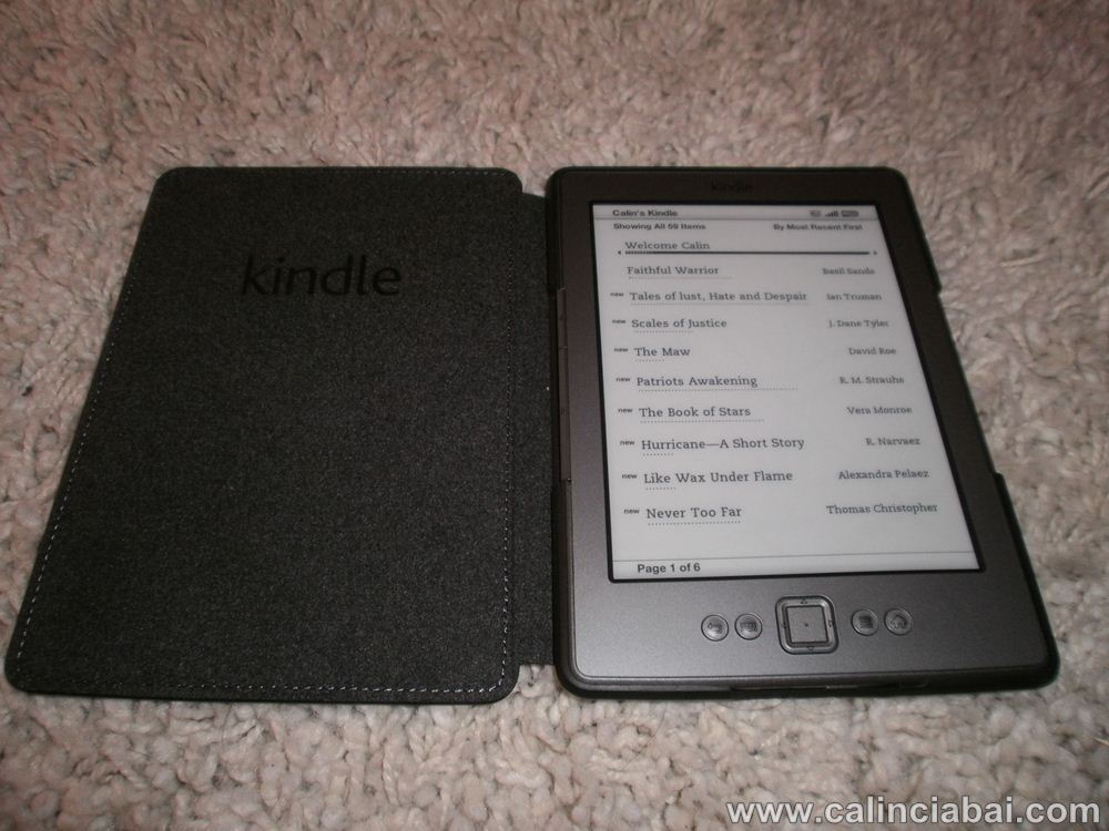 Am luat Kindle de pe Amazon – mult mai rentabil!